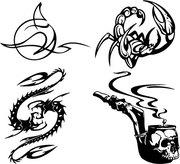 тату солоны в городе рудном где делают временые татуировки