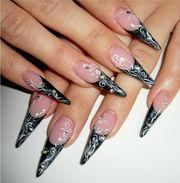 Наращивание ногтей(гель.акрил) от 2500 тенге. Маникюр от 500 тенге