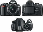 Продам зеркальную фотокамеру Nikon D60