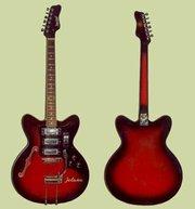 гитарa Jolana без струн и заднего порожка